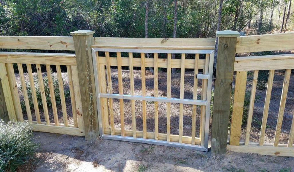custom gate