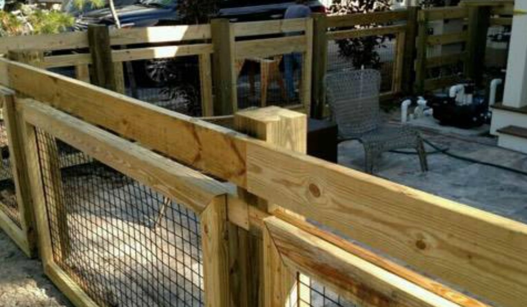custom fence design