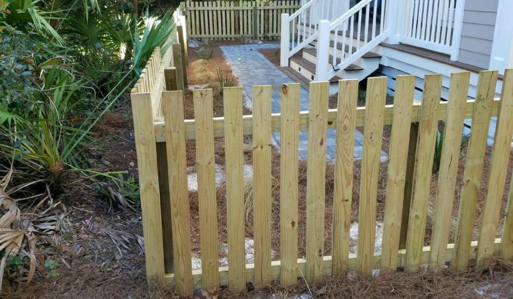 wood fence pcb